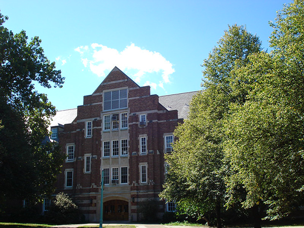 Front of Giltner Hall