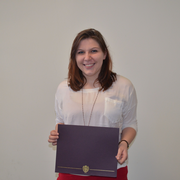 Allie Burnett, 2014 Jeffrey Boettcher Award Winner