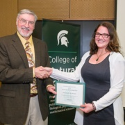 Jeanette McGuire Recognized for Teaching Excellence