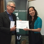 Sarah Saunders Wins MSU's Postdoctoral Excellence in Research Award